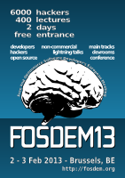 FOSDEM, the Free and Open Source Software Developers' European Meeting